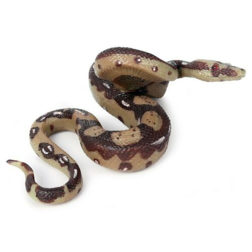 Boa Model Snake Animal Toy Hovering Constrictor Figure Reptile Decor for Kids