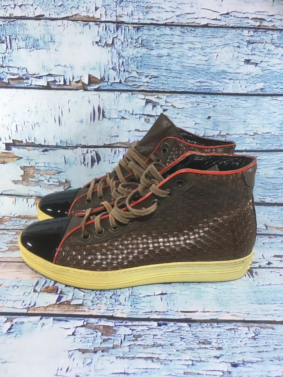 Roberto Guerrini Woven Pelle Shoes Italy Import EUR Size Size Size 41   8 (N4) 1282a0