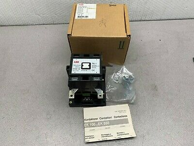 NEW IN BOX ABB EHDB130-20-11 CONTACTOR 110V//120V COIL SK824084-AF