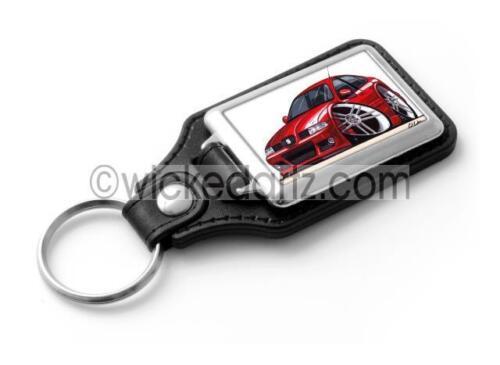 RetroArtz Cartoon Car Seat Leon Cupra R MK1 in Red Classic Key Ring