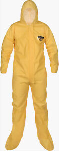 Lakeland protective suit with hood & booties