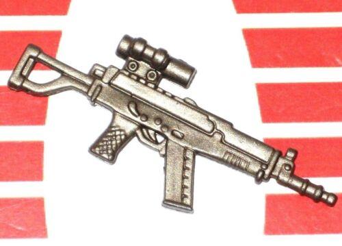GI Joe Weapon Machine Gun Sgt Hacker Copper Original Figure Accessory #0109