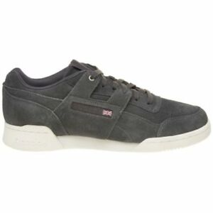 new selection 2019 wholesale price street price Details about New MENS REEBOK GRAY WORKOUT PLUS MONTANA CANS COLLABORATION  SUEDE Sneakers 9.5