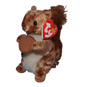 Ty Beanie Baby Nutty - MWMT (Squirrel 2002)