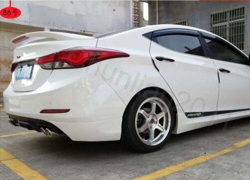 Factory Style Spoiler Wing for 2011-2016 HYUNDAI ELANTRA 4DR Sedan Light