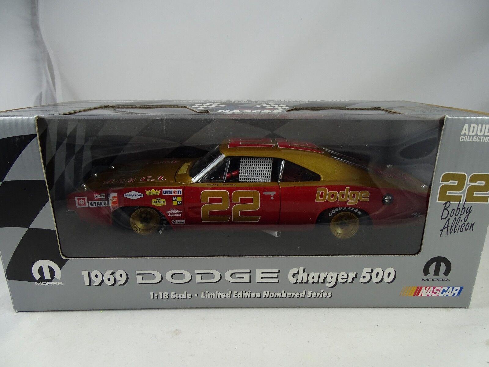 1 18 Ertl 1969 Dodge Charger 500-Bobby Allison  22 Limited NASCAR Series