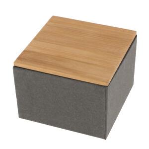 Details Zu Kuche Metall Aufbewahrungsbox Mit Bambus Deckel Bins Brot Zuckerdosen Tee