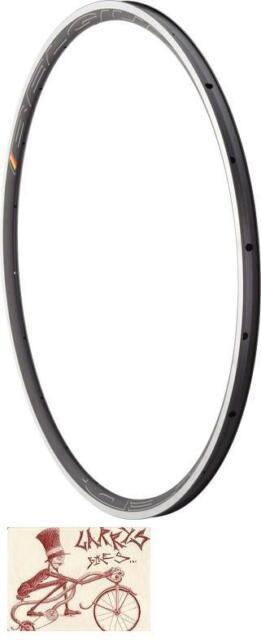 HED BELGIUM C2 W/ MSW 20H  BLACK 700C X 23MM BICYCLE RIM