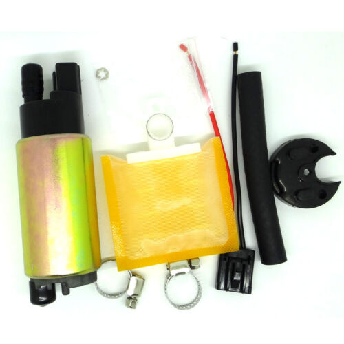 Fuel Pump Full Install Kit Oil Tube+Hose Clamps+Strainer+Rubber Cap for Acura