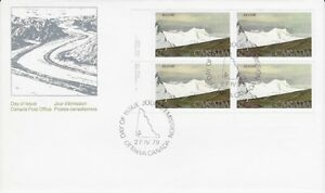 Canada-Post-OFDC-1979-2-00-National-Park-Kluane-LL-Pl-Bl-FDC-Sc-727-CV-24-60