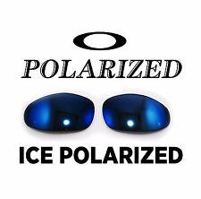 NEW Oakley Juliet X Metal Ice Polarized Custom Cut Replacement Lenses OEM Blue