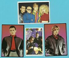 ABC Band Fab Card LOT Steve Singleton Mark White Martin Fry Tears Are Not Enough