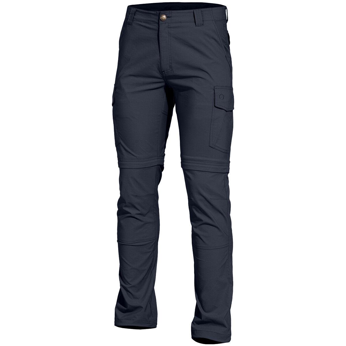 Pentagon Gomati XTR Pants Mens Zip Off Legs Outdoor Uniform Army Midnight bluee