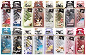 Yankee-Candle-Vent-Sticks-Car-Air-Freshener-4-Pack-Choose-Quantity-amp-Fragrance