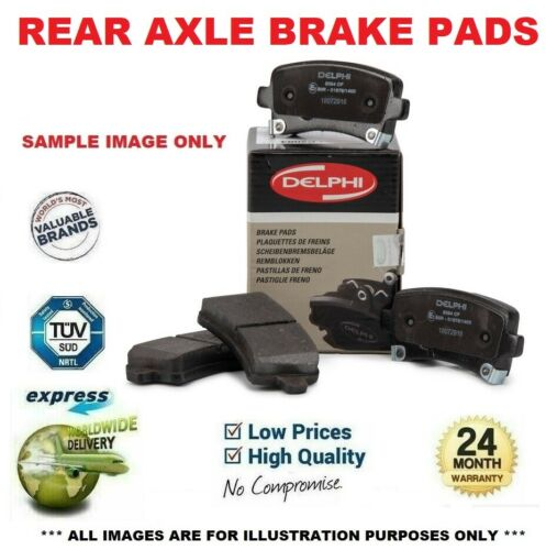 Rear Axle BRAKE PADS SET for TESLA MODEL S 60 2013-/>on