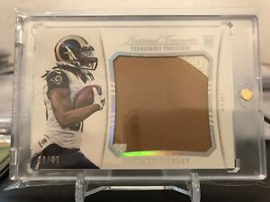 2015 National Treasures Todd Gurley RC Tremendous Treasures Rookie Patch 20/99!