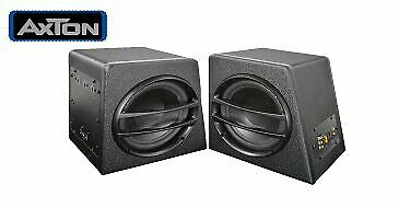 Axton axb20 a Subwoofer attivo Box woofer con amplificatore Bass scatola Subwoof