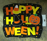 14x12 Happy Halloween Cardstock Party Paper Wall Window Decoration Decor