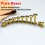 10pcs Leather Craft Belt Fitting Surface D8mm Flat Screw Wheel Nails Tool DIY