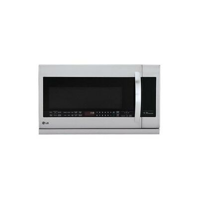 LG LMHM2237ST - 2.2 Cu Ft Stainless Steel Over The Range Microwave: ExtendaVent