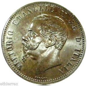 6ba44c50b9 Vittorio Emanuele II (10 Centesimi) 1866 TORINO | eBay