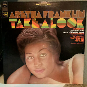 ARETHA-FRANKLIN-Take-A-Look-CBS-10589-12-034-Vinyl-Record-LP-EX
