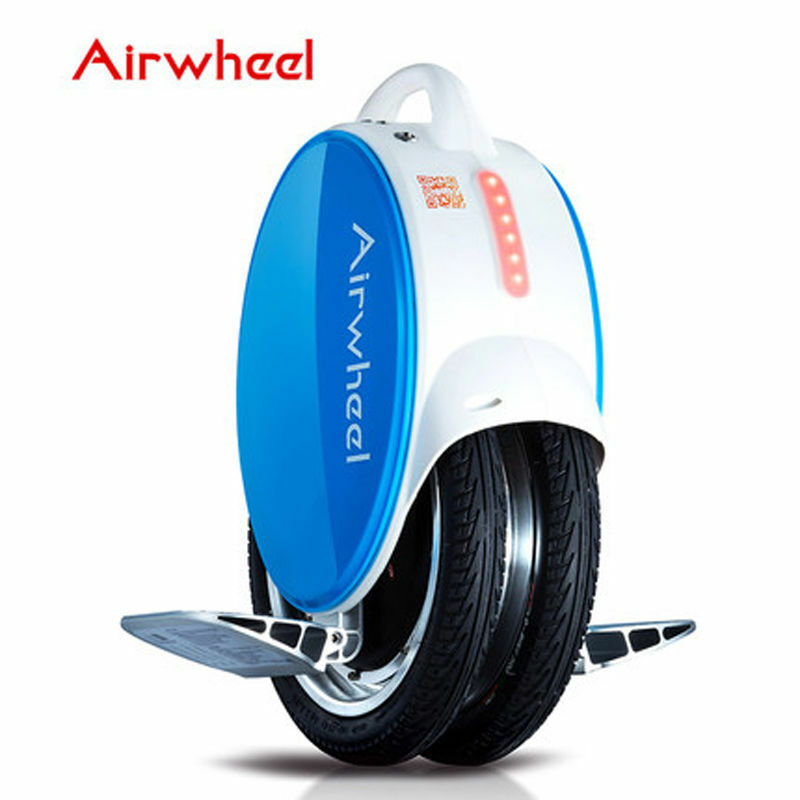 NEW Airwheel Q5 Electric Unicycle Scooter - Twin Wheel - bluee color