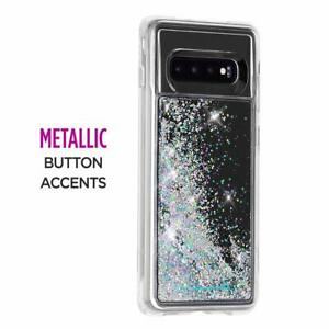cc4773508 Image is loading CaseMate-Waterfall-Samsung-Galaxy-S10-Liquid-Glitter-Case-