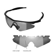 New WL Polarized Transition Vented Replacement Lenses for Oakley M Frame Sweep
