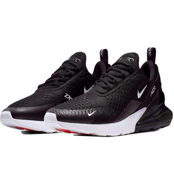 Nike Air Max 270 Black Anthracite White AH8050 002 Mens Size 9