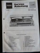 Original Service Manual Grundig  RPC 2000 RPC 2000 GB