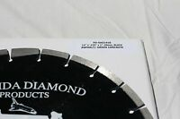 Diamond Blade 14 For Asphalt,green Concrete,block,10mm Segment,fits Stihl,husky