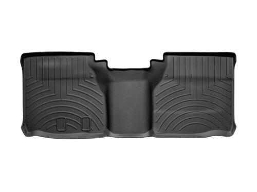 WeatherTech FloorLiner Floor Mats for Frontier//Equator Ext Cab Black 2nd Row