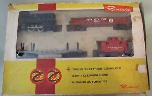 Trenino Set Rivarossi Art 40206 Dockside B & o 98 Fabriqué en Italie
