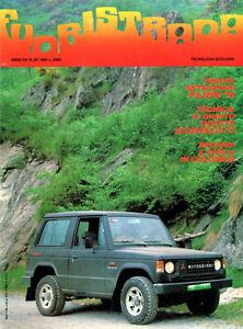 Rivista-Fuoristrada-n-29-1984-Mitsubishi-Pajero-TD-Raid-in-Colombia-RARISSIMA