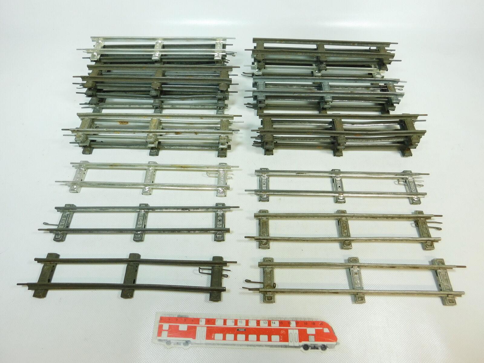 BR863-2x Märklin Traccia 0 Pezzo Pista Dritto (26 cm) per goldlogio-Operati