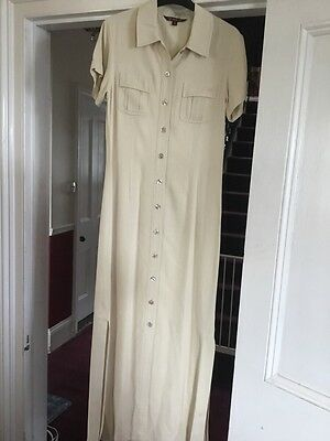 Mulberry Size 10 Dress Maxi 100% Silk Amazing