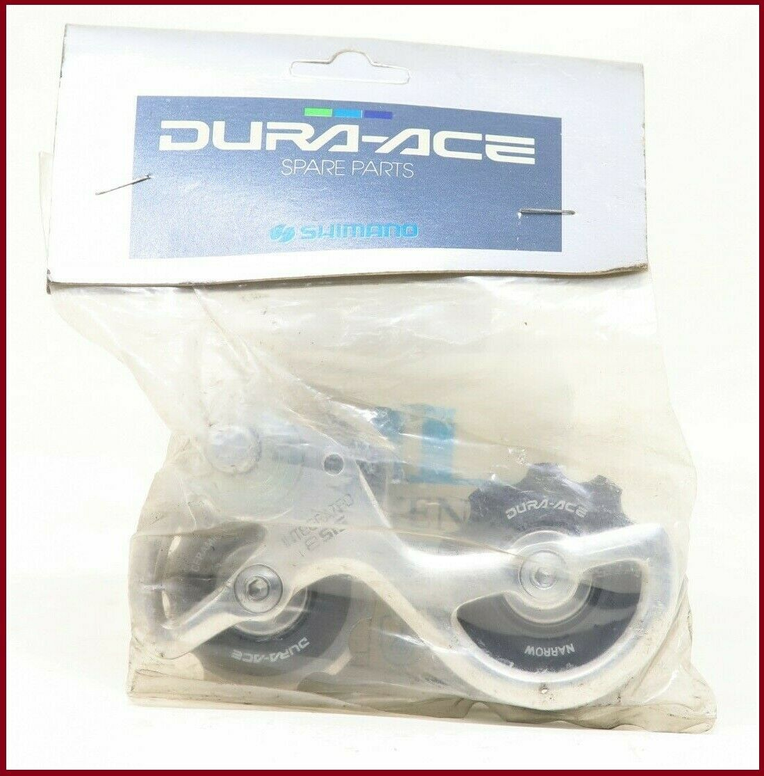 NOS  SHIMANO DURA-ACE 7400 REAR DERAILLEUR CAGE REPLACEMENT RD-7400 PULLEYS MECH  best sale
