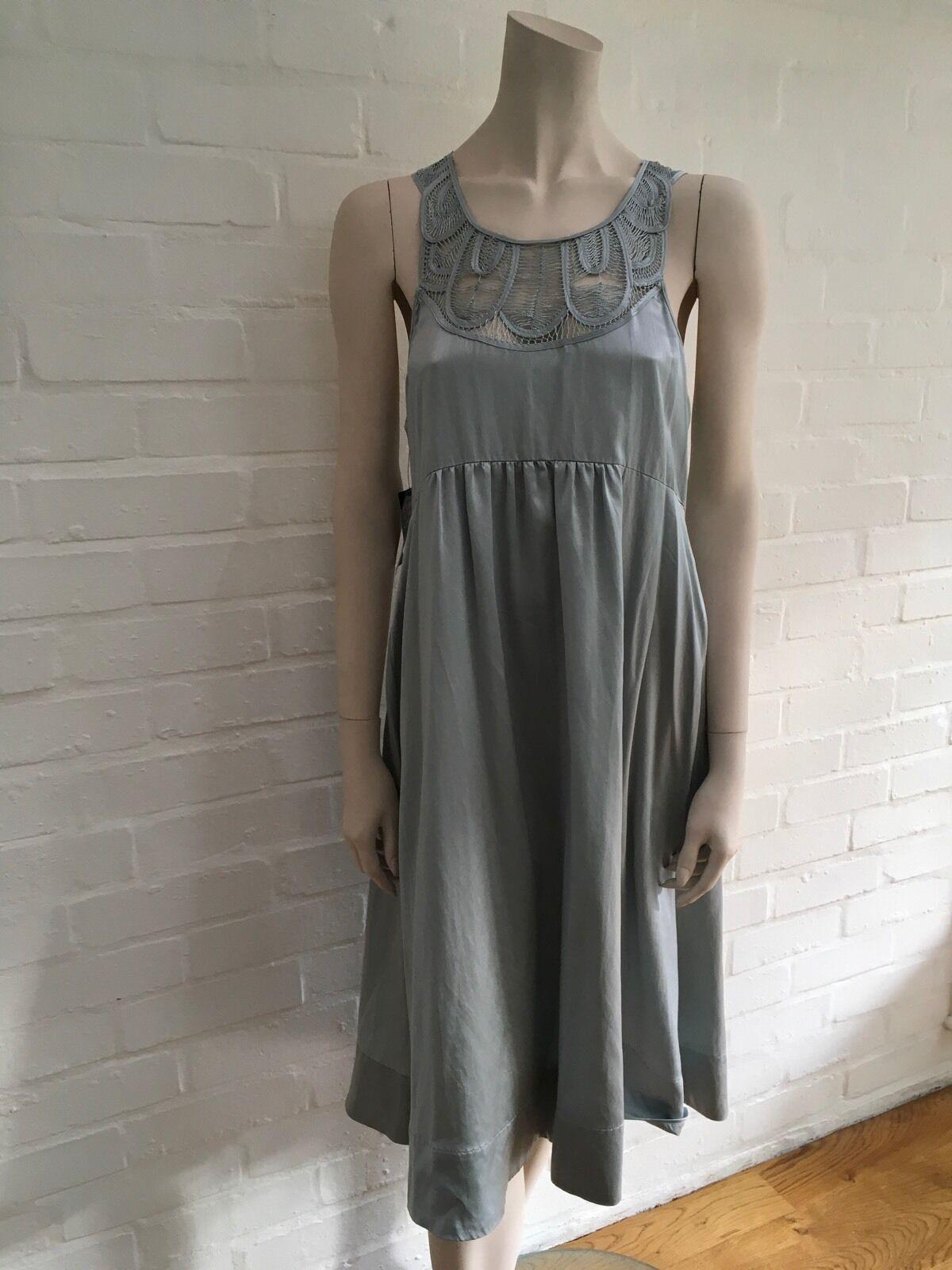 DAY Birger et Mikkelsen, Movie Silk Dress Size Size Size DK 40 US 10 L LARGE f6189b