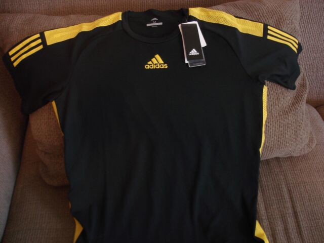 outlet store 8ad7e 67432 adidas Barricade Climacool Tennis Tee Crew Shirt Cd4996 Medium / Large