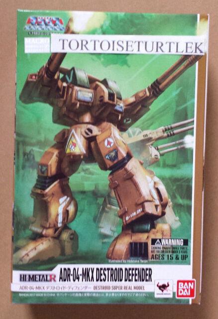 Bandai HI-METAl R Macross ADR-04-MKX Destroid Defender Action Figure
