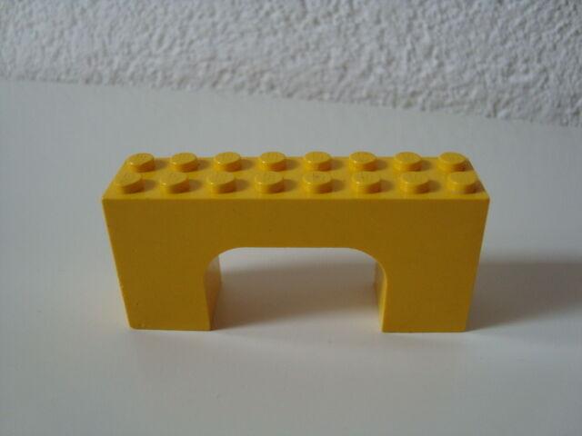 Lego 4743 Bogenstein gelb 2x8x3