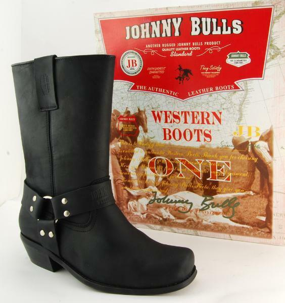 Señores vaquero botas Johnny bulls botas tamaño