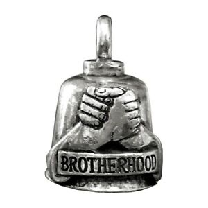 Pewter-Motorcycle-Gremlin-Bell-Brotherhood-Fists-Handshake-Made-in-the-USA