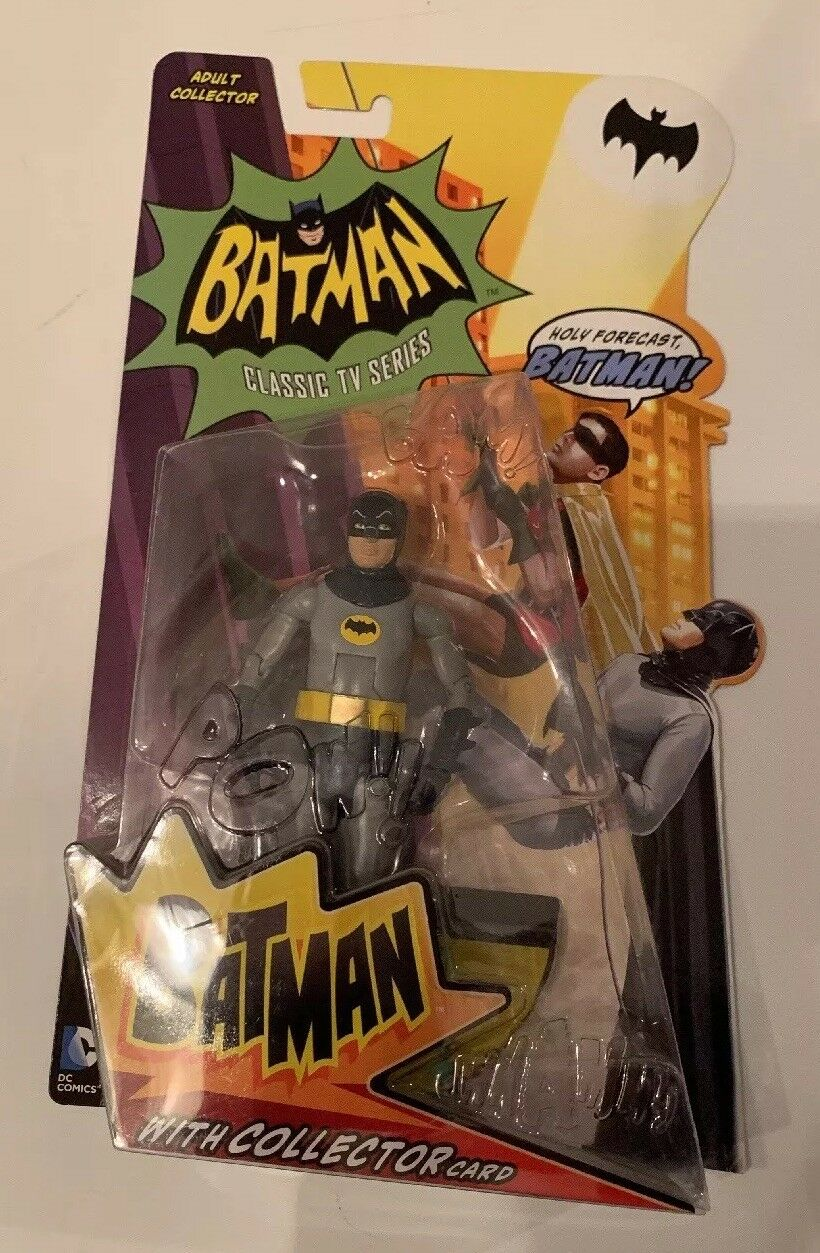 Batman Classic TV Series BATMAN With Collector Card New on Card