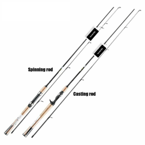 Ice Fishing Rod Spinning Tackle Bait Pole Stick Lightweight Ocean Rock Lure Rods