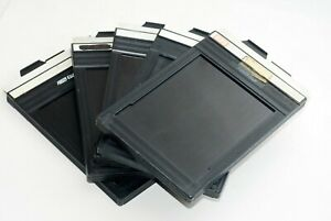 Used-Excellent-Lots-of-5-Fidelity-Elite-Cut-Film-Holder-size-4x5-from-Japan