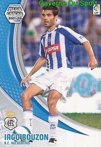 258-IAGO-BUZON-ESPANA-RC-RECREATIVO-OMONIA-TARJETA-CARD-MGK-LIGA-2008-PANINI
