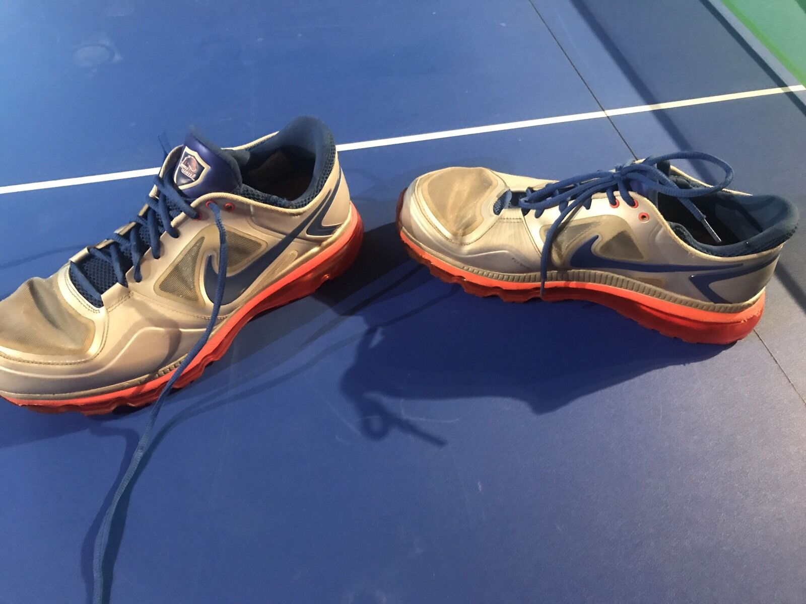 Nike Trainer 1.3 Boise State Shoes - Used Size 14 - Rare Players Only Promo