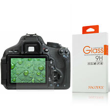 Nacodex HD Tempered Glass Screen Protector For Canon EOS Rebel T5i T6i T6s